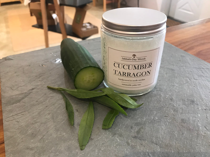 Cucumber Tarragon Candle, Fresh Kitchen Series