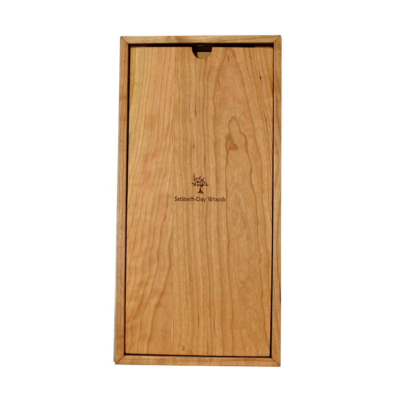 Birches Tall Box Clock