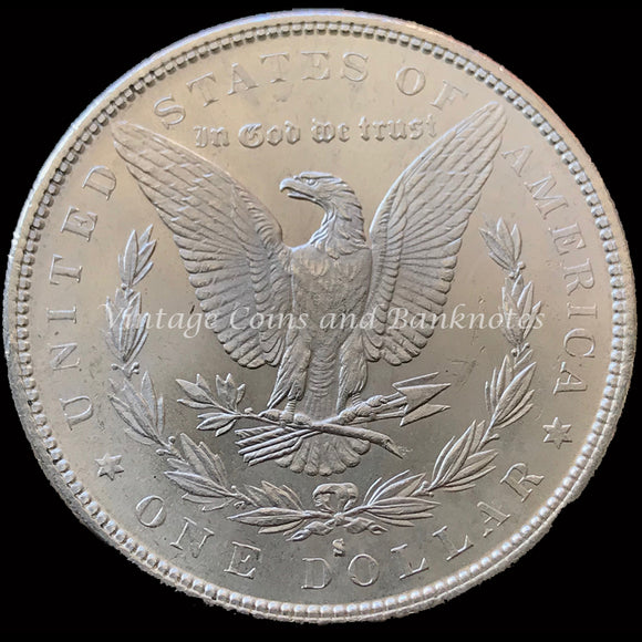 1882-S USA Morgan $1 Silver Coin ChUNC MS64