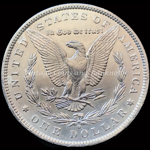 1884-O USA Morgan $1 Silver Coin ChUNC MS64