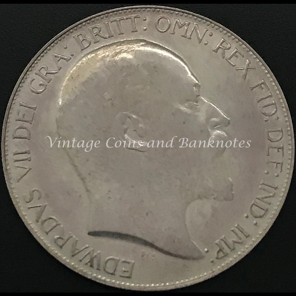 1902 British Pattern Crown Edward VII Sydney Mint