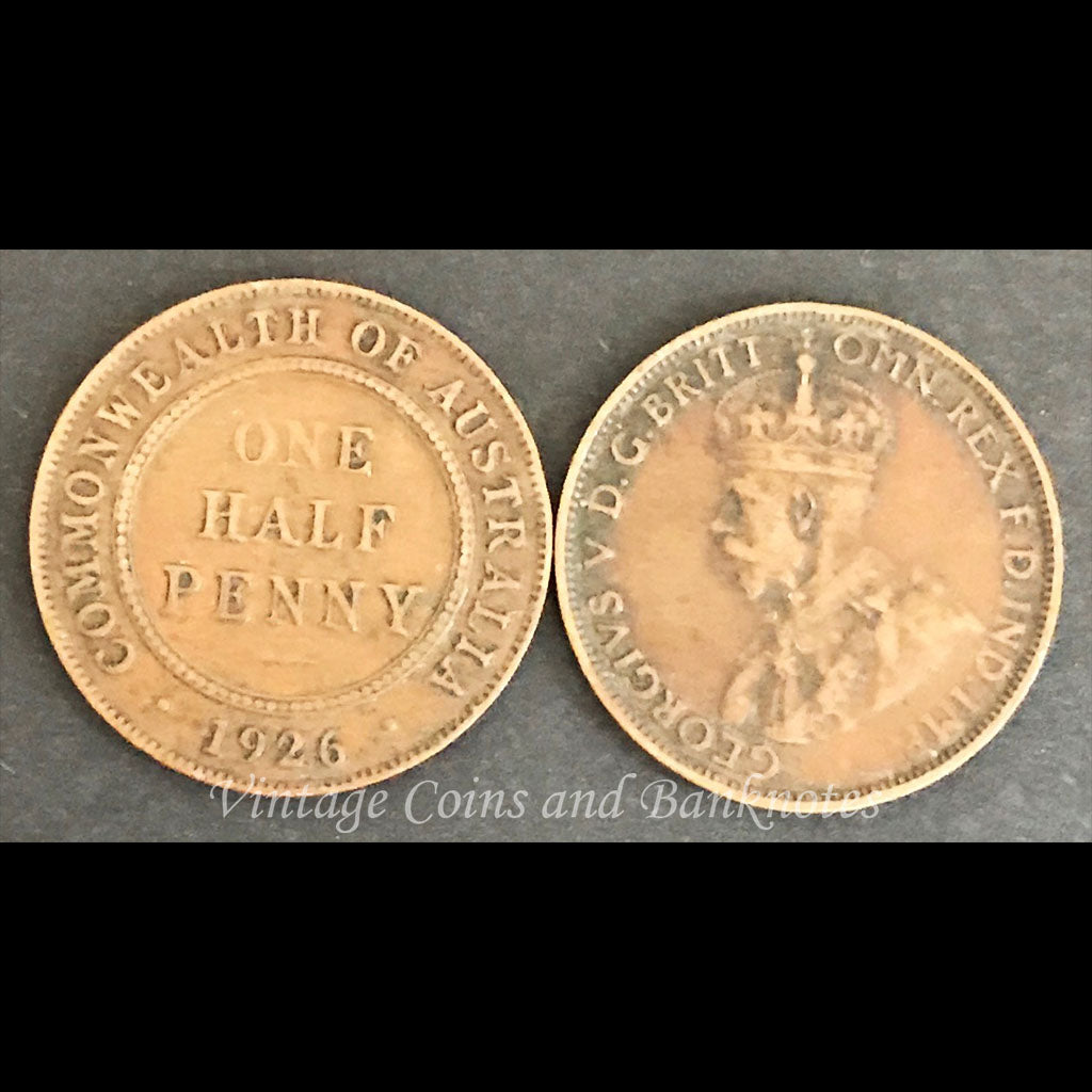 1926 Halfpenny George V
