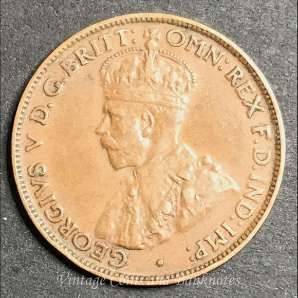 1929 Halfpenny George V