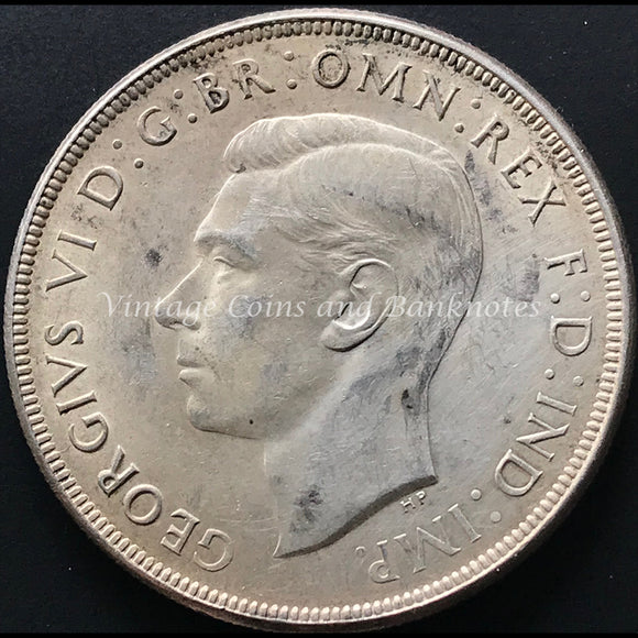 1937 Crown King George VI gFINE/aVF