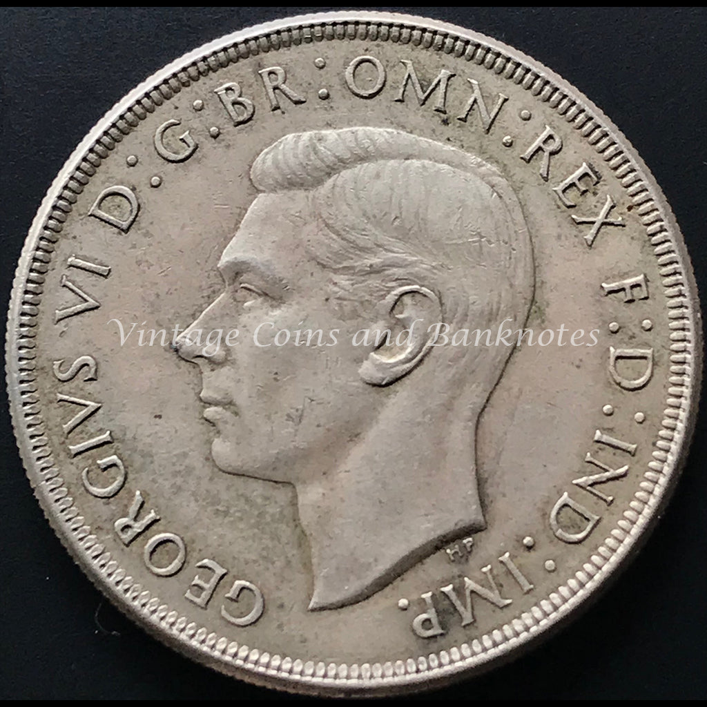 1937 Crown King George VI gVF