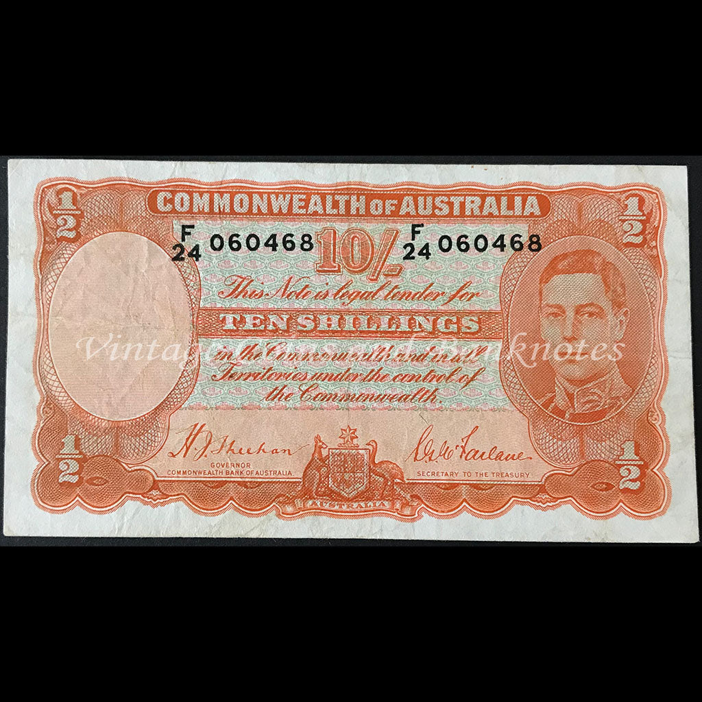 Australian Pre Decimal Bank Notes