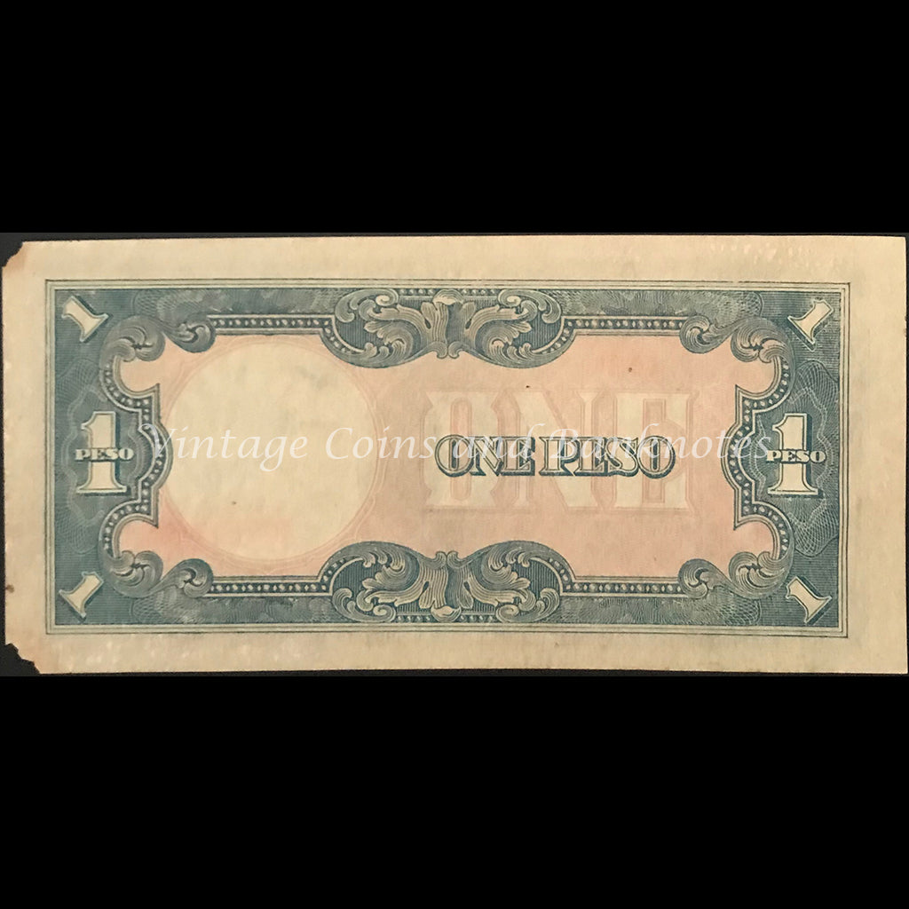 JIM Philippines ND (1943) 1 Peso gFINE