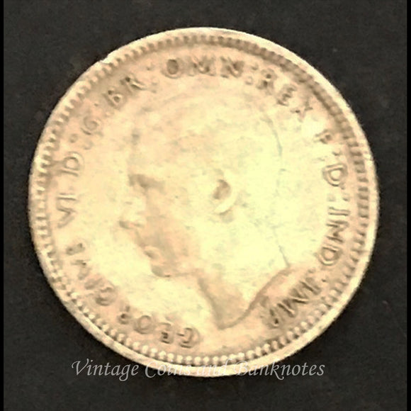 1943 Threepence George VI USA S