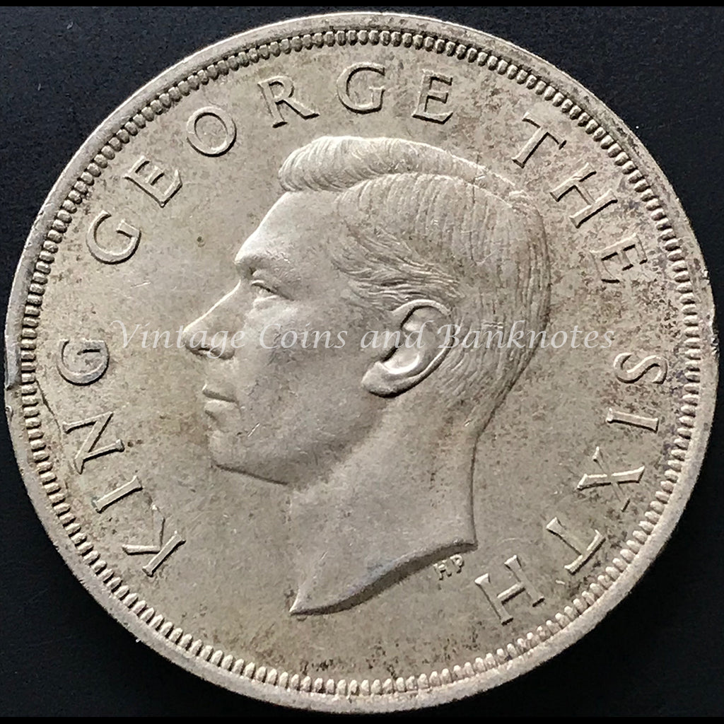 1949 New Zealand Crown King George VI aEF