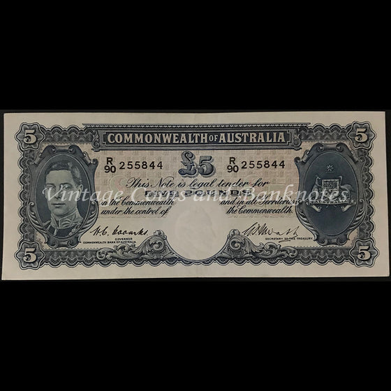 1949 Coombs Watt Five Pounds George VI EF