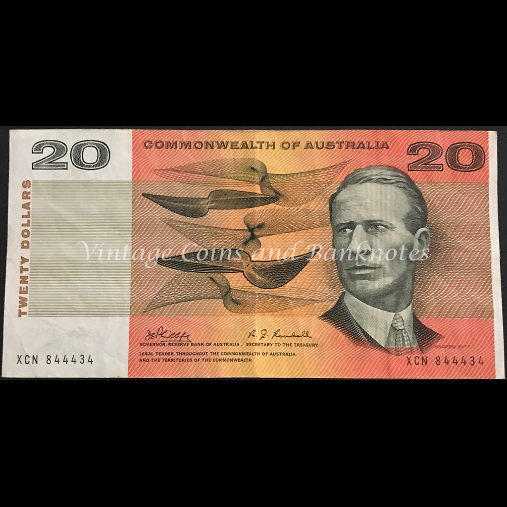 1968 Phillips Randall $20 VF