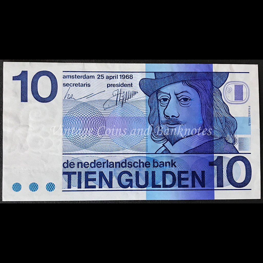 Netherlands 1968 10 Gulden
