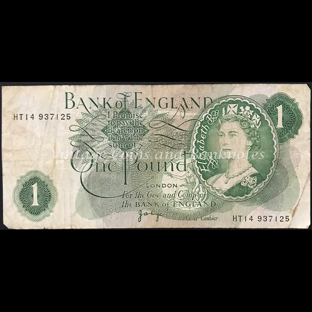 Great Britain ND (1970-77) 1 Pound FINE
