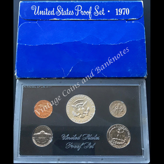 1970 USA Proof Coin Set