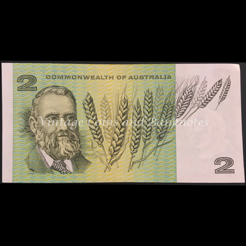 1972 Phillips Wheeler $2 Commonwealth of Australia aUNC