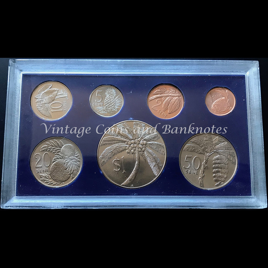1974 Cook Islands Specimen Coin Set