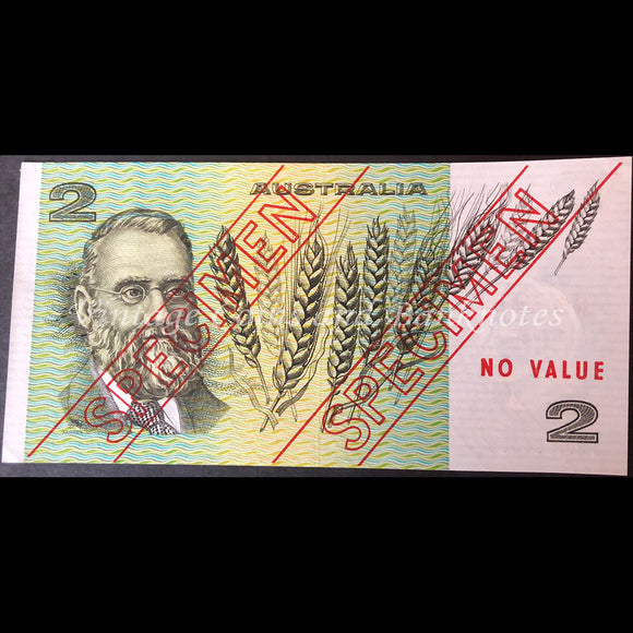 1974 Phillips Wheeler $2 Specimen Type 3 UNC RARE