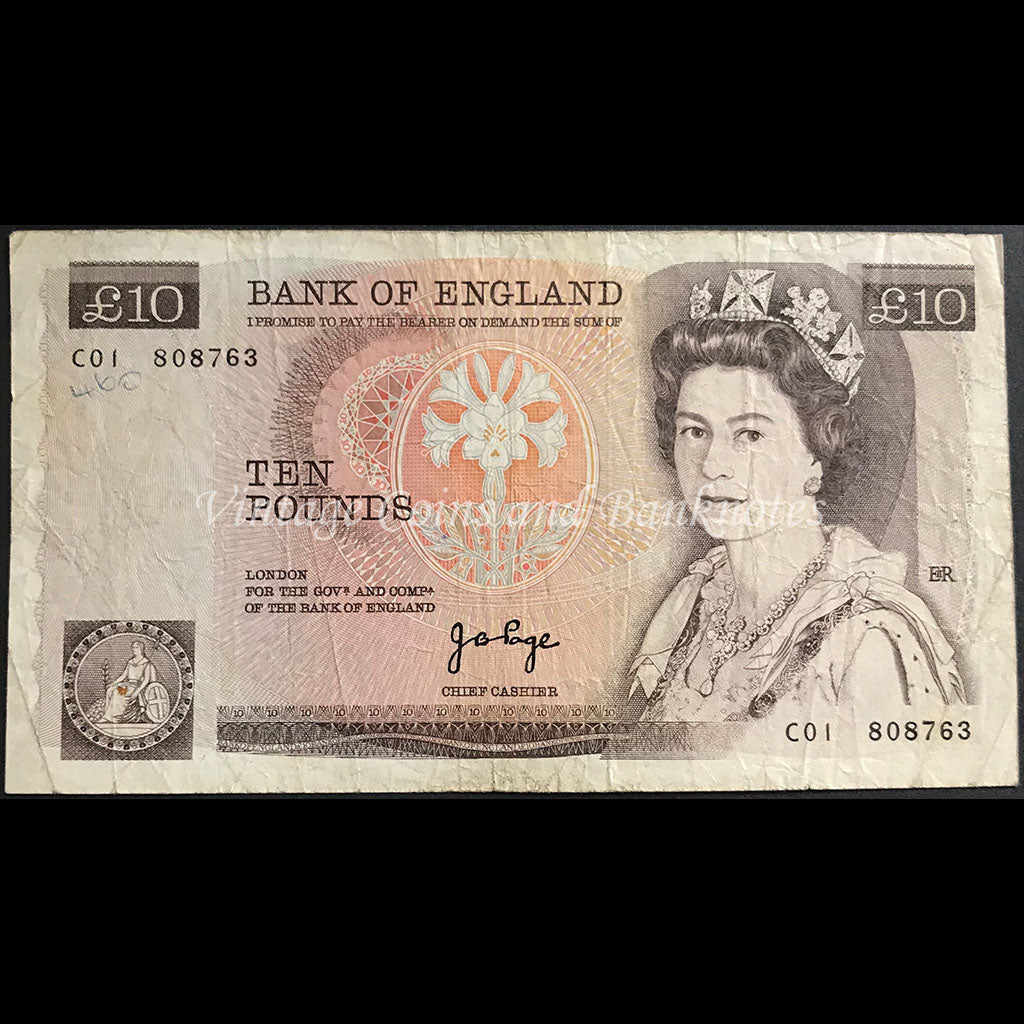 Great Britain ND (1975-80) 10 Pounds
