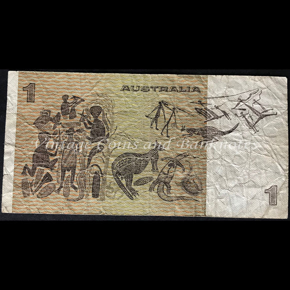 1977 Knight Stone $1 Semi Solid Number 700000 Fine