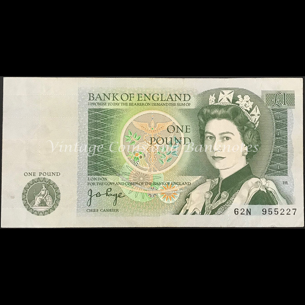 Great Britain ND (1978-80) 1 Pound gFINE