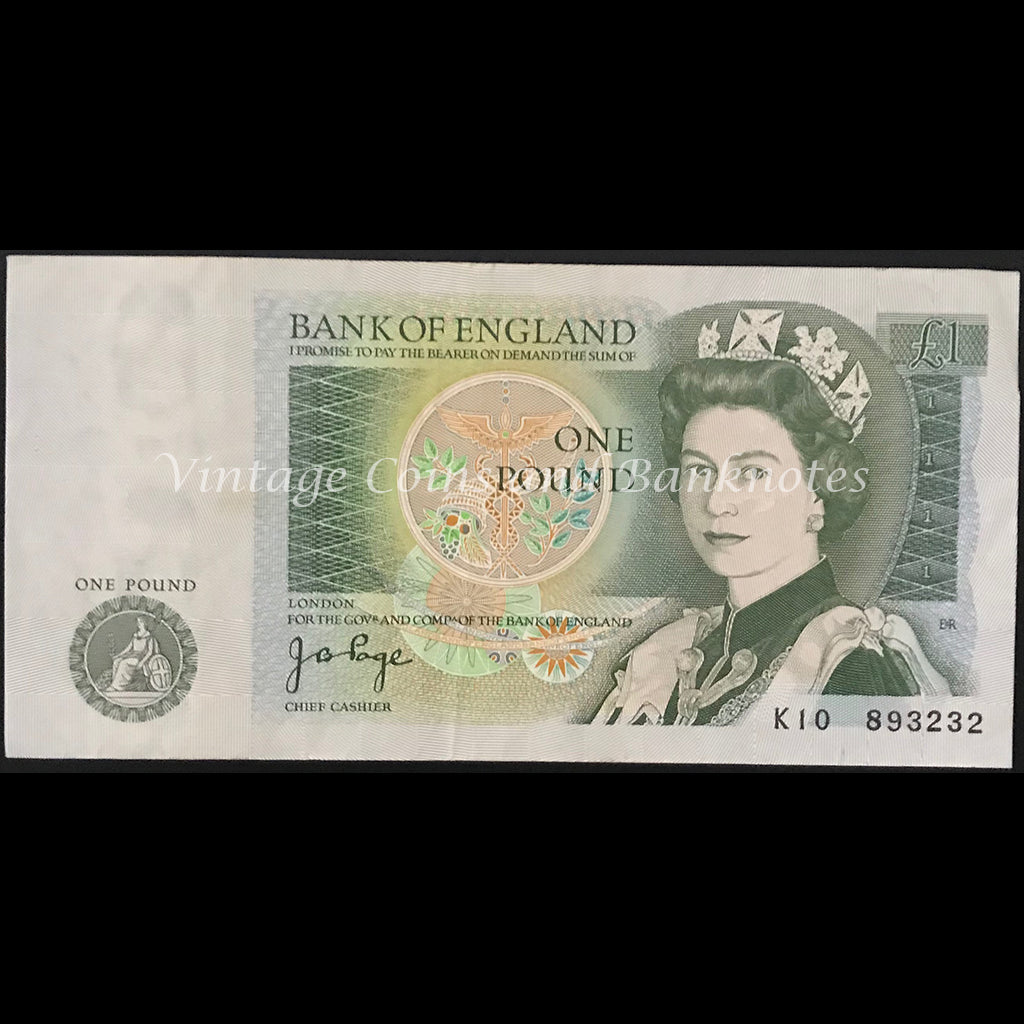 Great Britain ND (1978-80) 1 Pound VF