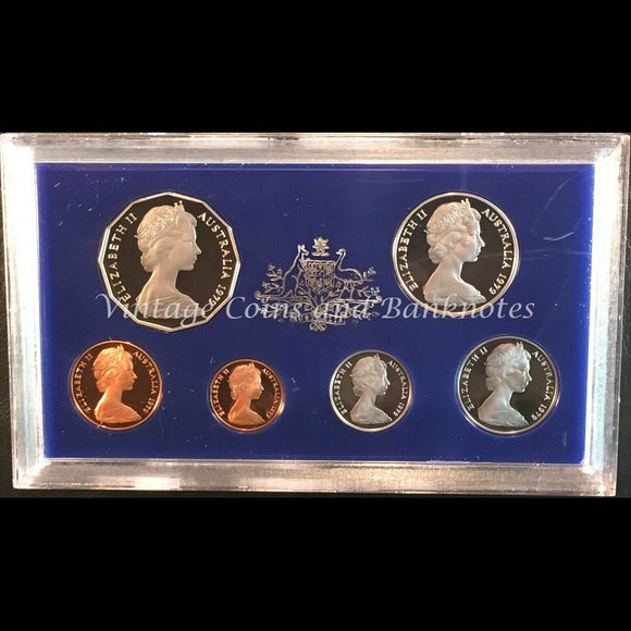 1979 Australia Proof Set