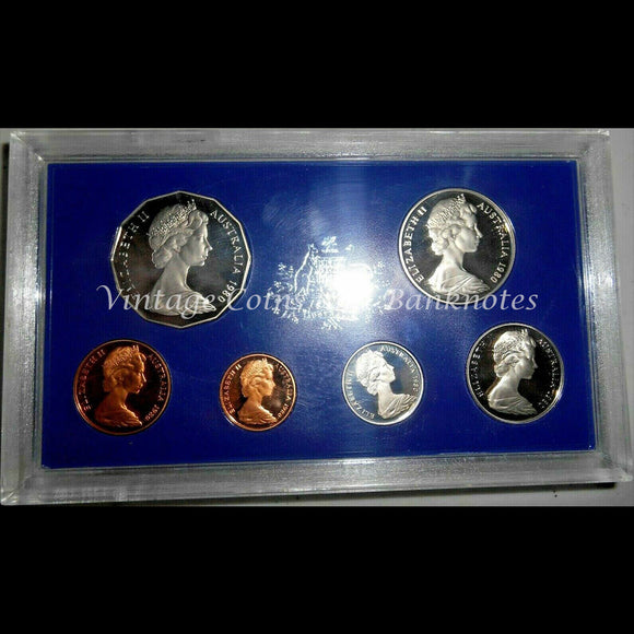 1980 Australia Proof Set