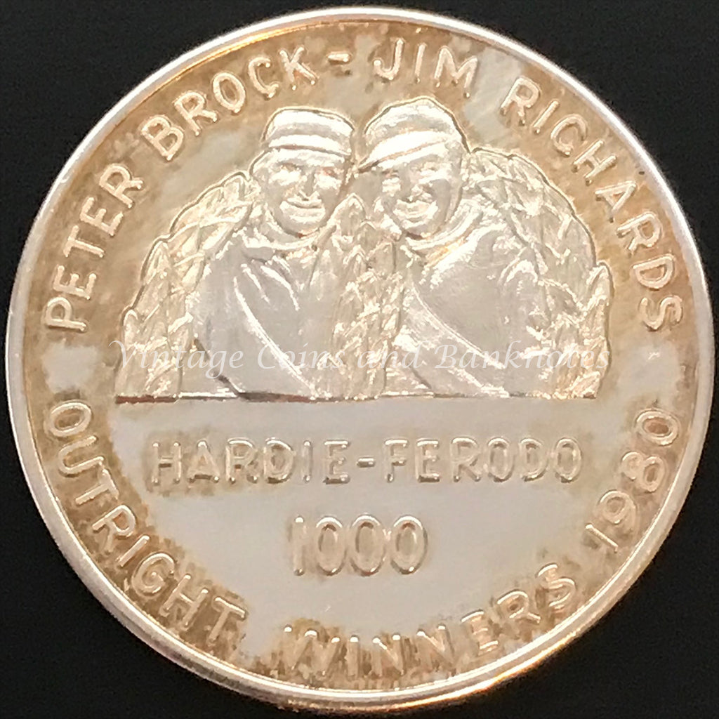 1980 James Hardie 1000 Medallion UNC RARE