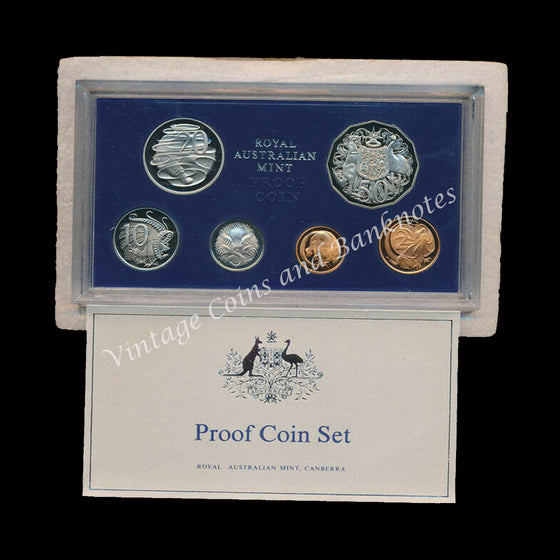 1981 Australia Proof Set