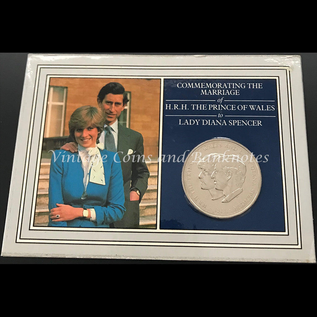 1981 Great Britain Commemorating the Marriage of HRH The Prince of Wales to Lady Diana Spencer Crown