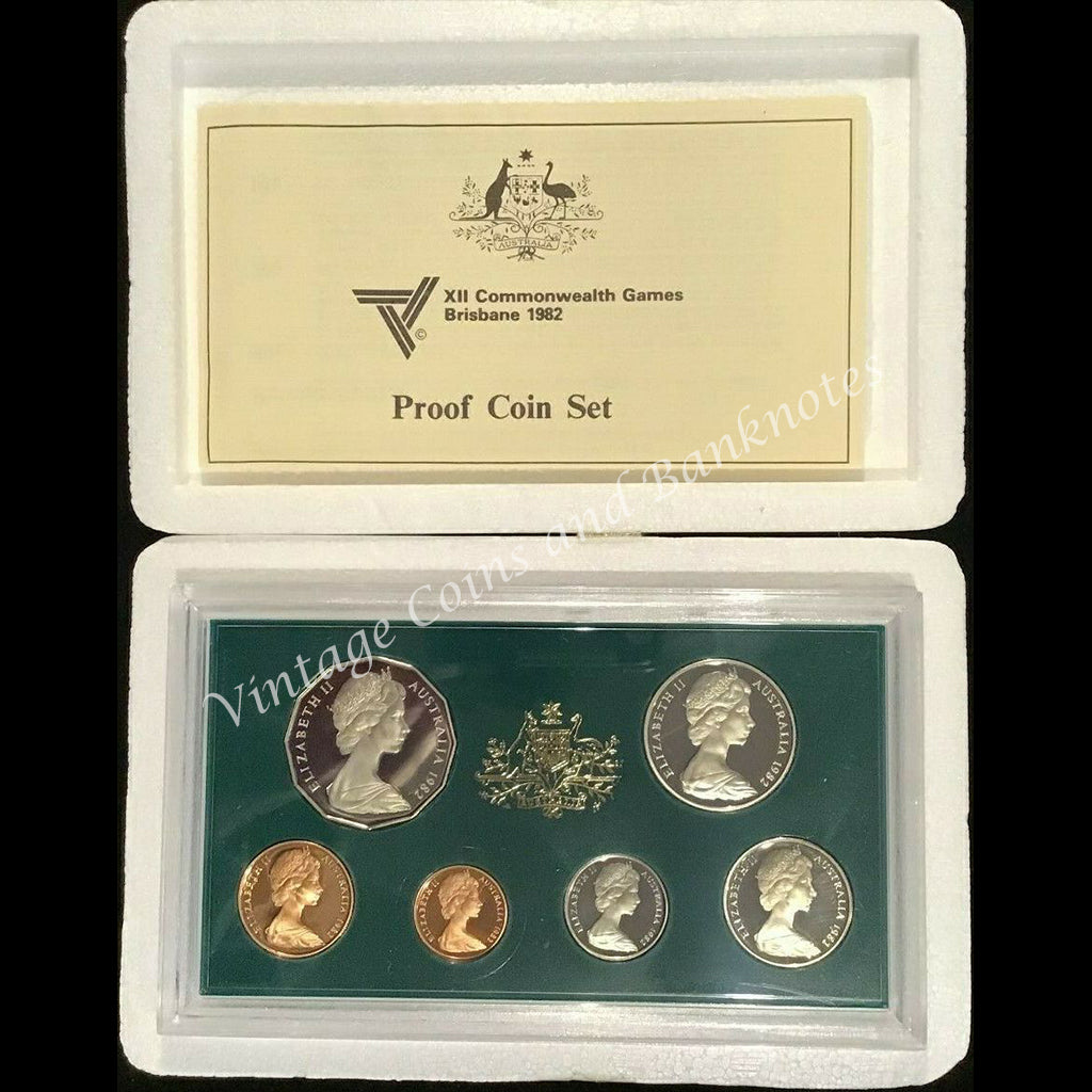 1982 Australia Proof Set