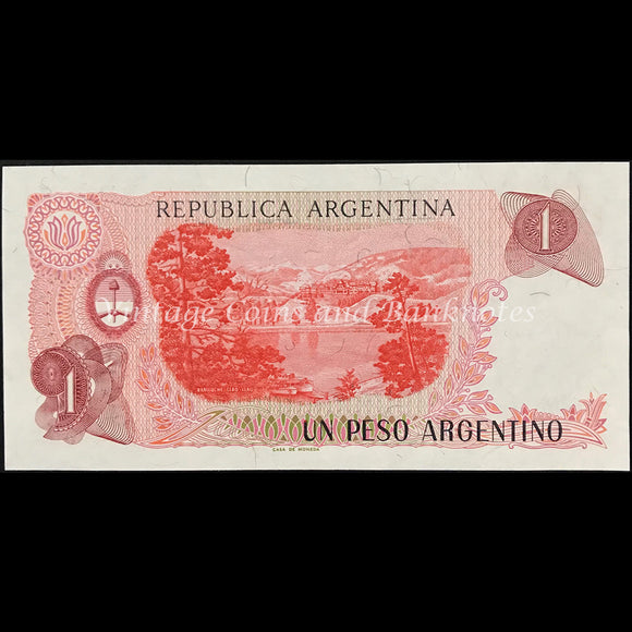 Argentina ND (1983-89) 1 Peso Argentino UNC