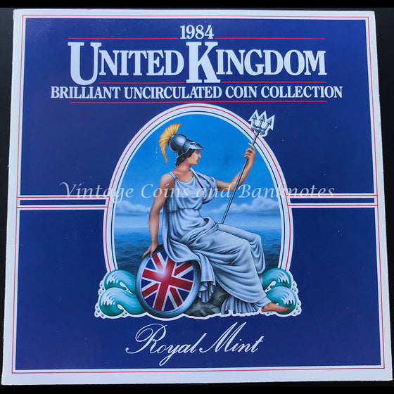 1984 United Kingdom Mint Coin Set