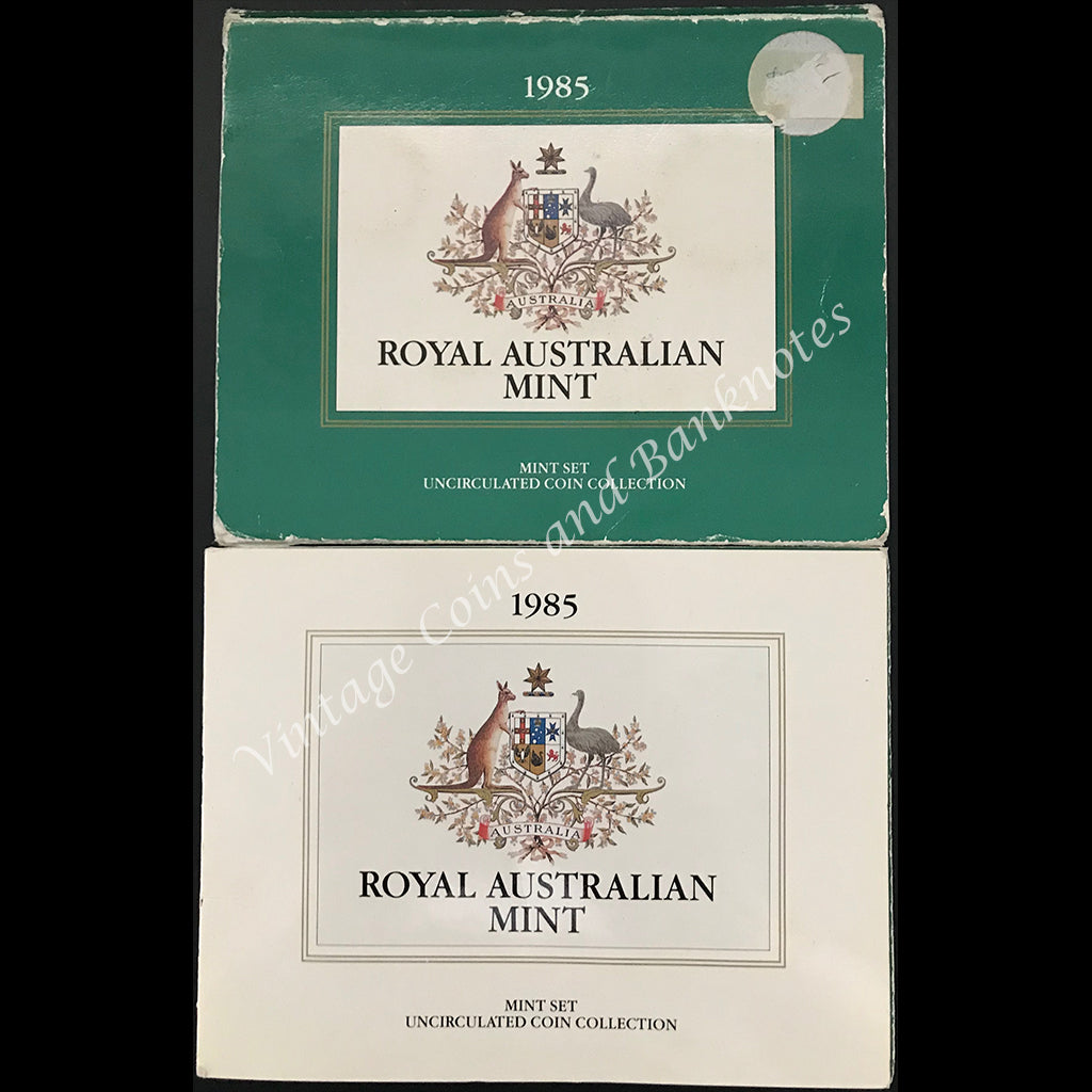 1985 Australian Seven Coin Mint Set