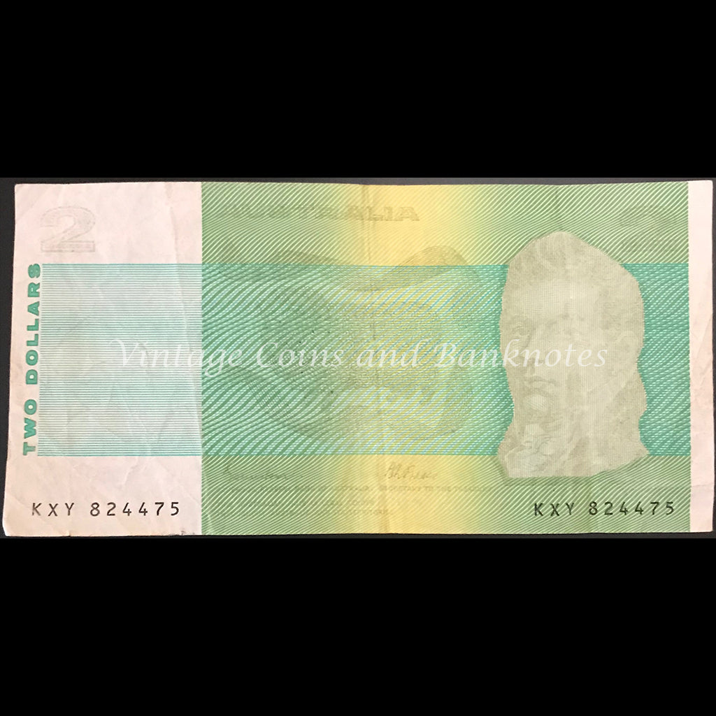 1985 Johnston Fraser $20 ERROR Missing Ink Phase VF