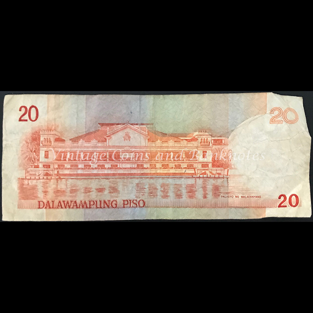 Philippines ND (1986-94) 20 Piso FINE
