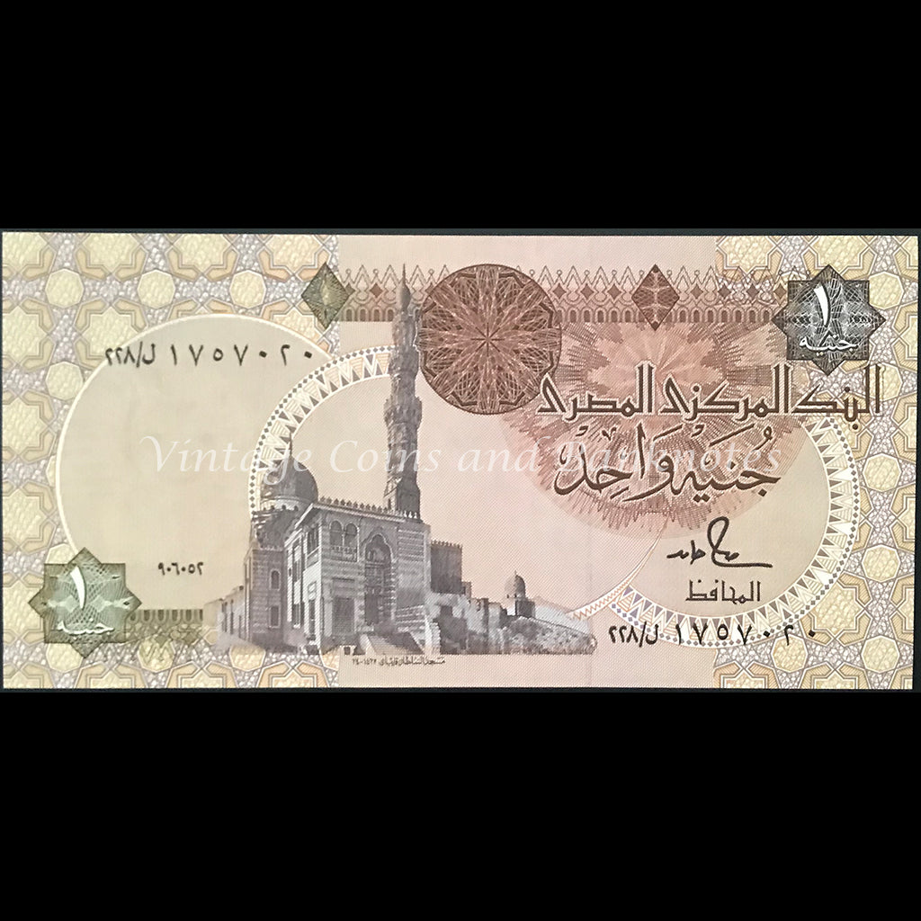 Egypt 1989-2001 One Pound aEF