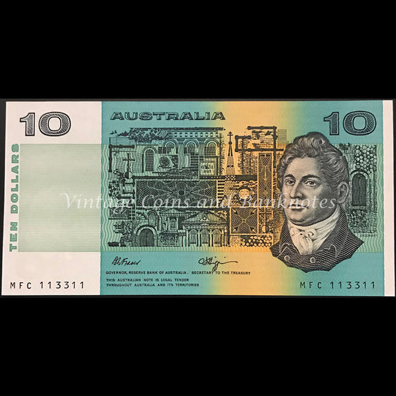1989 Fraser Higgins $10 Radar Numbers 113311 UNC