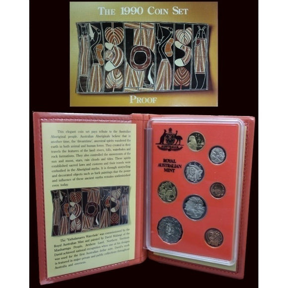1990 Eight Coin Proof Set