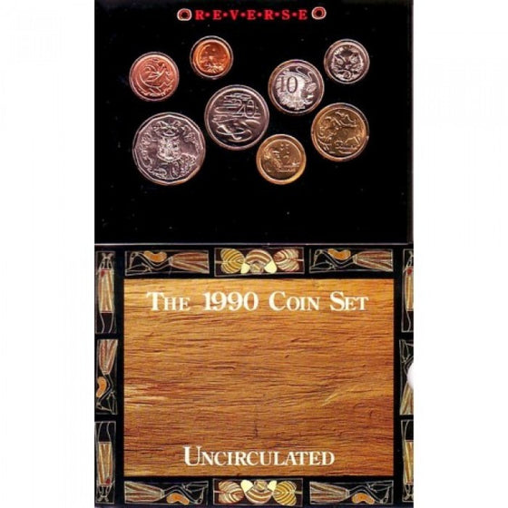 1990 Mint Coin Set
