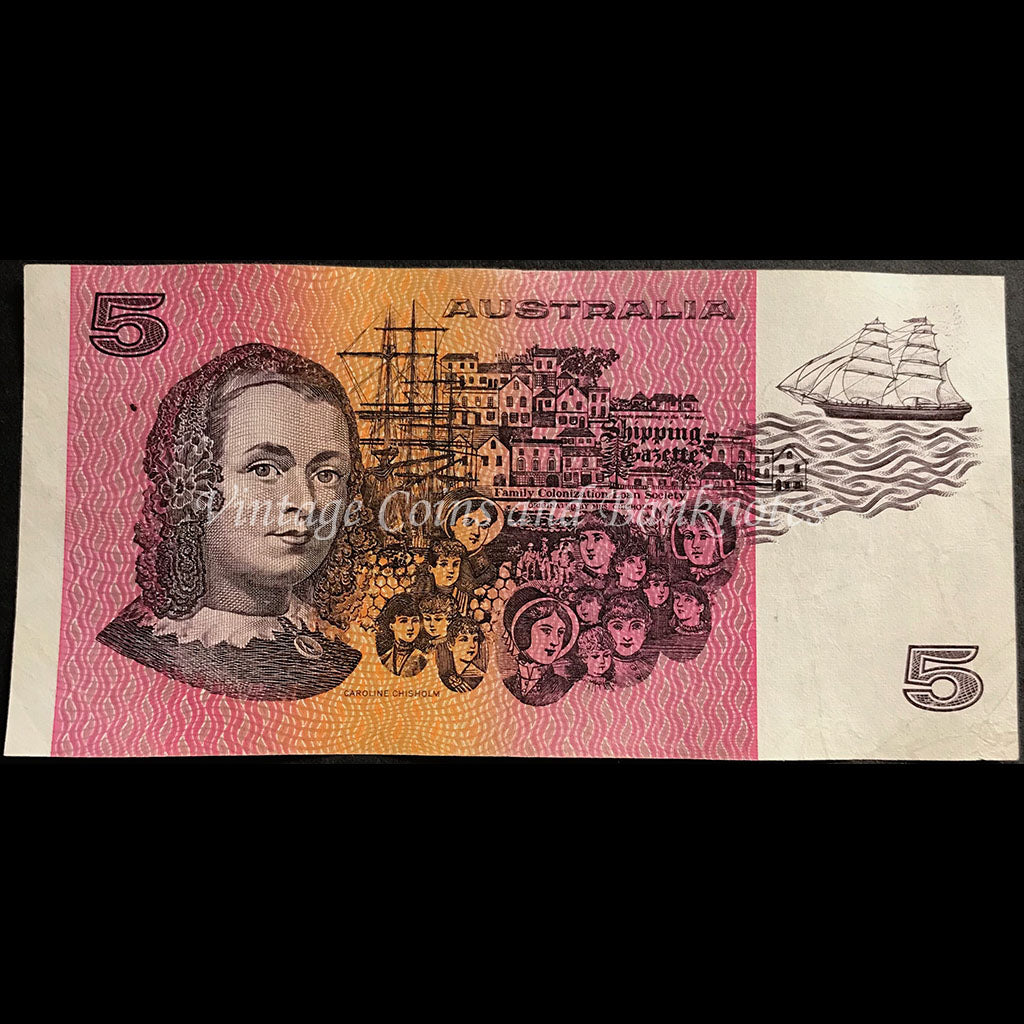1990 Fraser Higgins $5 VF