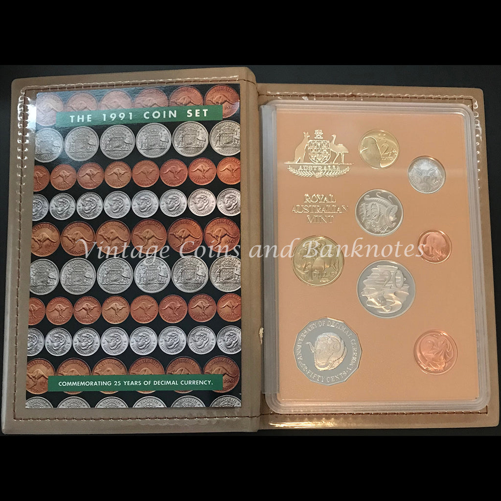 1991 Eight Coin Proof Set