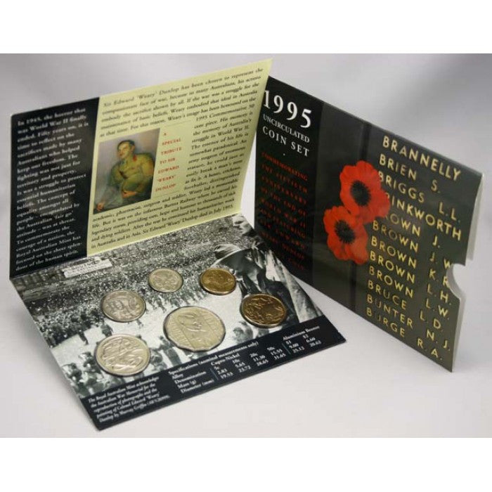 1995 Mint Coin Set