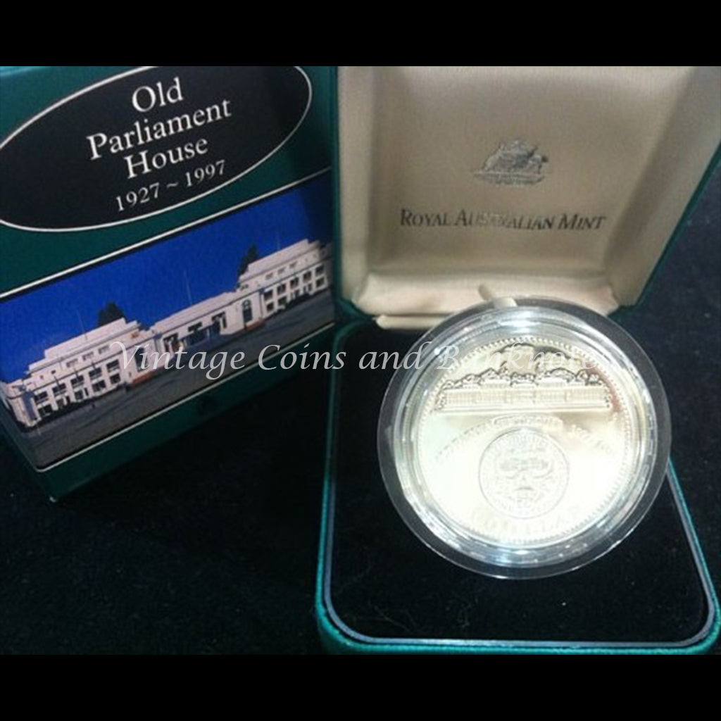 1997 Old Parliament House Silver Proof 1oz Coin