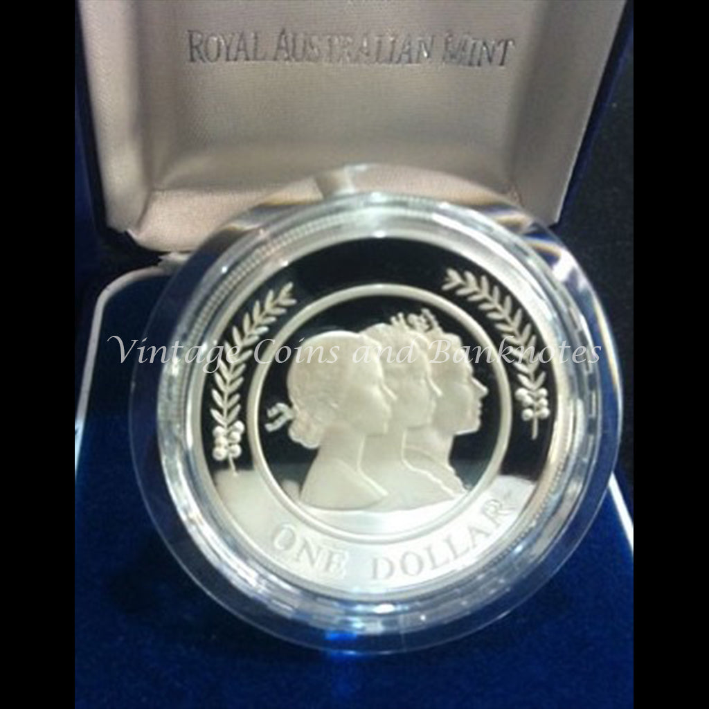 1999 $1 Silver Proof Coin - Majestic Images