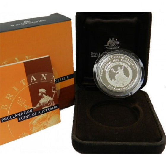 2000 Proclamation 1oz Silver Coin