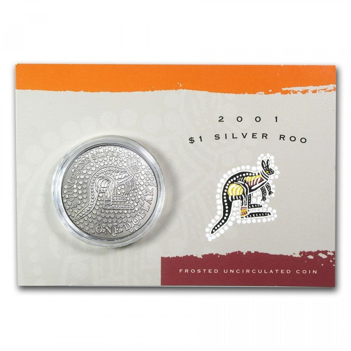 2001 $1 Silver Roo