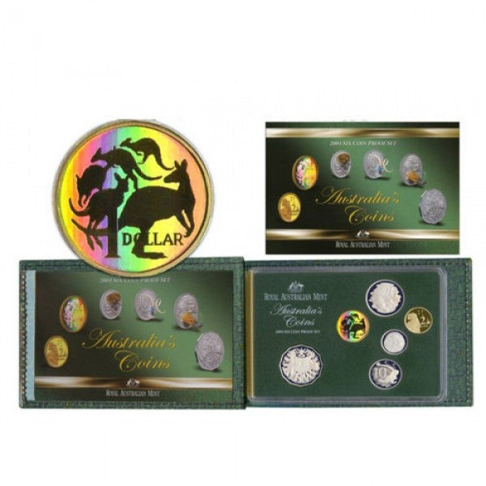 2004 Six Coin Proof Set