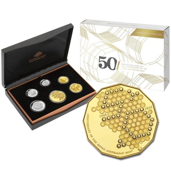 2015 Six Coin Proof Set - RAM 50th Anniversary