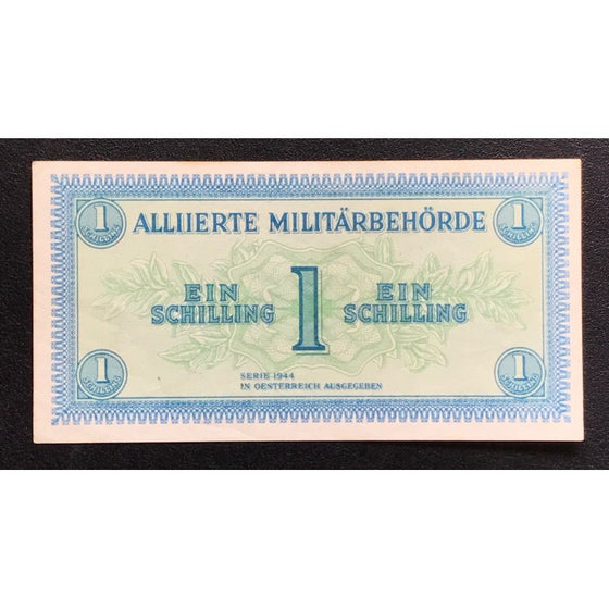 Allied Occupation Currency WWII - Austria 1944 1 Schilling
